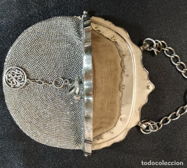 Antigüedades: Bolso Plateado - Foto 5 - 245373190