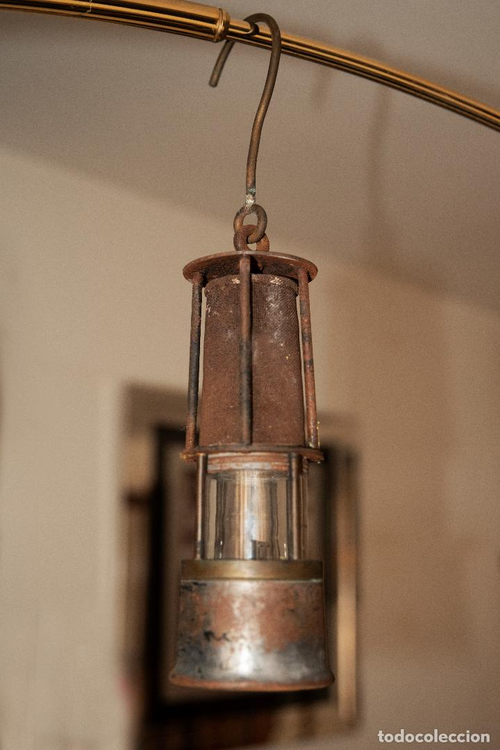 LAMPARA DE MINERO (Antigüedades - Iluminación - Lámparas Antiguas)