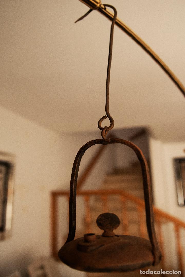 CANDIL O LAMPARA MINERA (Antigüedades - Iluminación - Lámparas Antiguas)