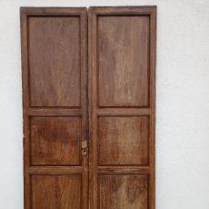Antigüedades: PUERTAS ANTIGUAS DE INTERIOR. Lote 245391580