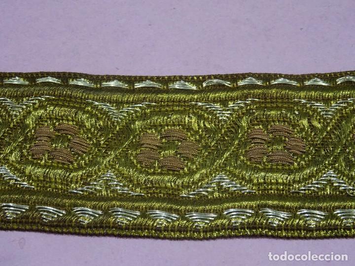 Antigüedades: Galon Antiguo en Oro y Plata - Foto 2 - 245392255