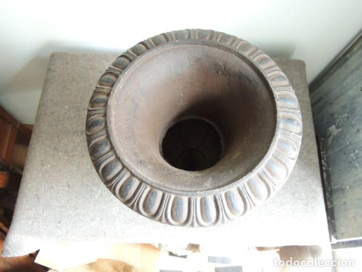 Antigüedades: COPA DE HIERRO ALTURA 40 CM - Foto 4 - 245419875