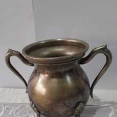 Antigüedades: INCENSARIO ANTIGUO DE ALPACA. VER FOTOS.. Lote 245447665