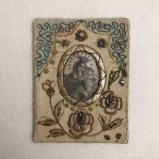 Antigüedades: RELIGIOSO. ANTIGUO ESCAPULARIO VIRGEN DEL CARMEN. Lote 245466480