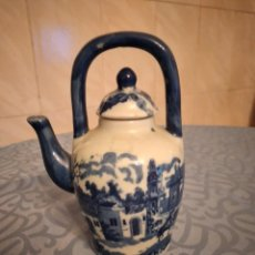 Antigüedades: ANTIGUA CAFETERA DE PORCELANA VICTORIA WARE IRONSTONE. Lote 245527160