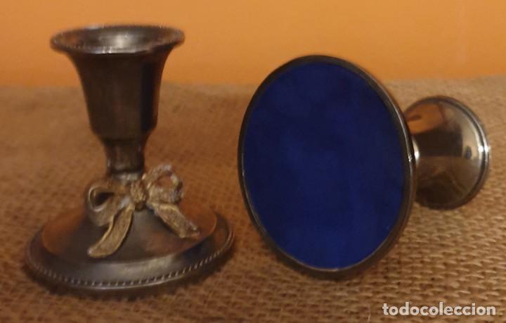 Antigüedades: Juego de 2 candelabros - Foto 3 - 245570280