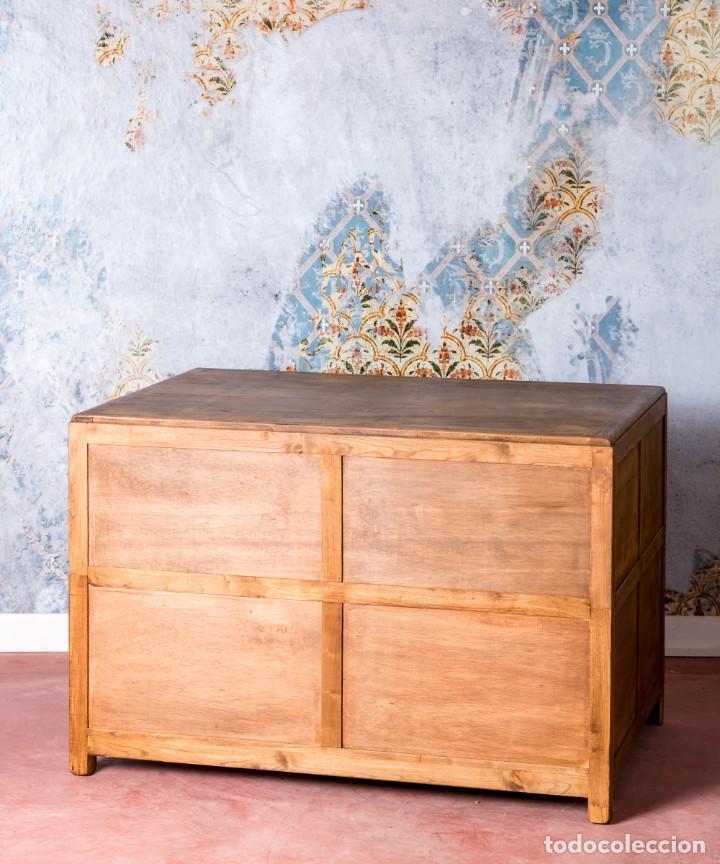 Antigüedades: Mueble Industrial Planero 1943 - Foto 8 - 245578970