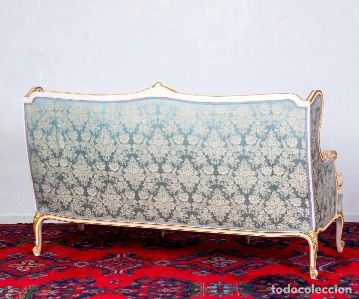 Antigüedades: Sofá Luis XV Antiguo - Foto 3 - 245611435