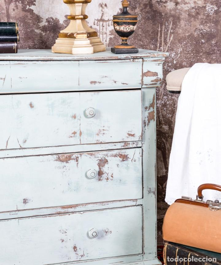 Antigüedades: Cómoda Antigua Restaurada Daphne - Foto 5 - 245621520