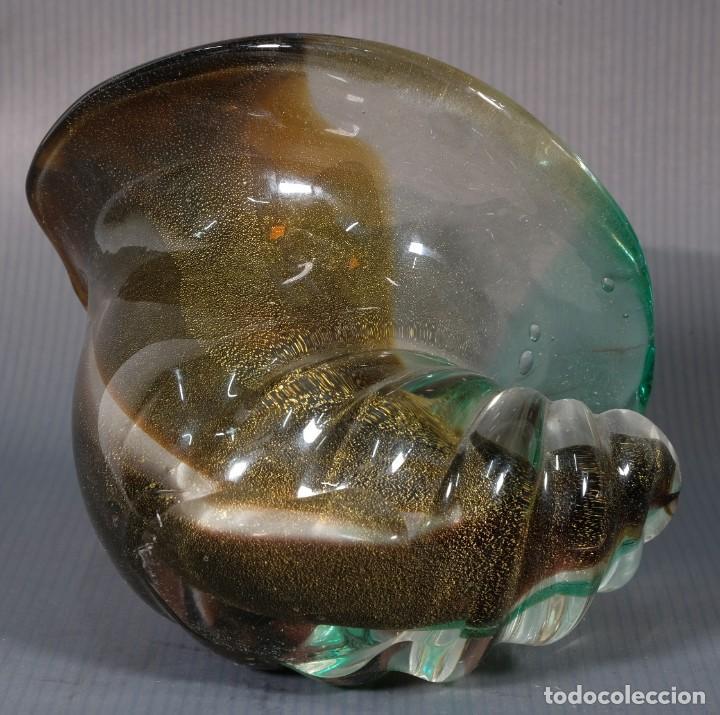 Antigüedades: Caracola en cristal - Foto 4 - 245637830