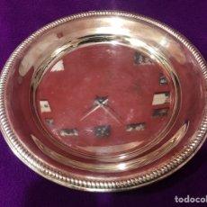 Antigüedades: CENTRO DE MESA/ BOL DE ALPACA. Lote 245724000