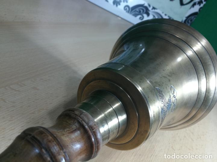 Antigüedades: CAMPANA CON CURIOSA INCRIPCIÓN NO SE SI DE OLIMPIADAS O DE AUDI, aceptaria CAMBIO - Foto 30 - 245742680