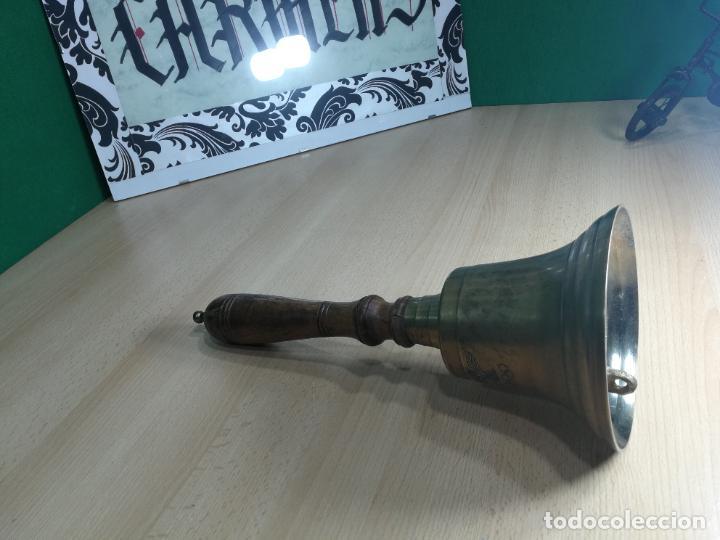 Antigüedades: CAMPANA CON CURIOSA INCRIPCIÓN NO SE SI DE OLIMPIADAS O DE AUDI, aceptaria CAMBIO - Foto 34 - 245742680
