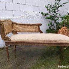 Antigüedades: SOFA CHELONG REJILLA. Lote 245909325