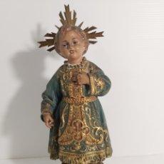 Antigüedades: NIÑO JESUS DE OLOT. Lote 245918645
