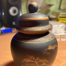 Antigüedades: TIBOR DE PORCELANA JAPONESA,. Lote 245978640