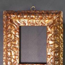 Antigüedades: MARCO. MADERA DORADA. BARROCO. SIGLO XVII - XVIII.. Lote 246067835