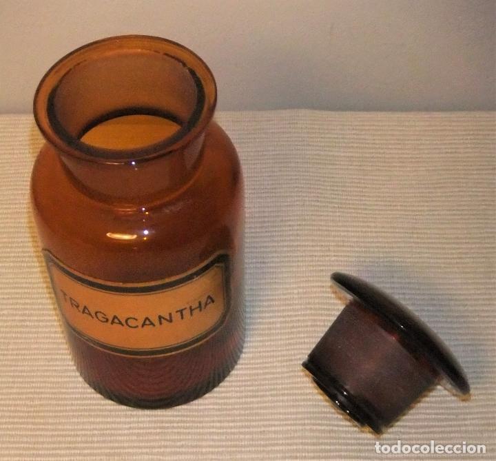 Antigüedades: ANTIGUA BOTELLA, BOTE, FRASCO DE CRISTAL DE FARMACIA - Foto 3 - 246069540