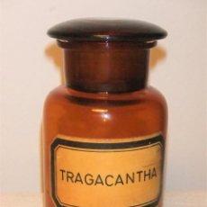 Antigüedades: ANTIGUA BOTELLA, BOTE, FRASCO DE CRISTAL DE FARMACIA. Lote 246069540