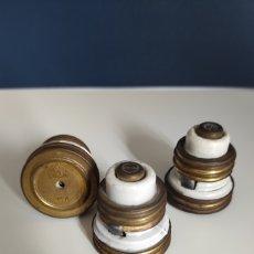 Antigüedades: LOTE 3 FUSIBLES SIMÓN. Lote 246104140