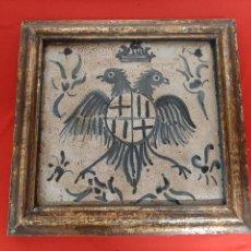 Antigüedades: (CE-210300)BALDOSA VALENCIANA - ESCUDO. Lote 246130110