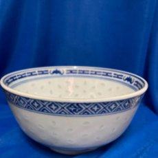 Antiquités: CUENCO DE PORCELANA CHINA, SELLADO, VINTAGE AÑOS 80.. Lote 246135870