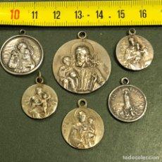 Antigüedades: LOTE MEDALLAS ANTIGUAS. Lote 246141715