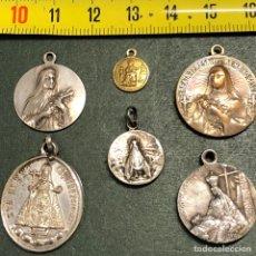Antigüedades: LOTE ANTIGUAS MEDALLAS. Lote 246144055
