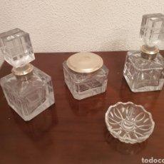 Antigüedades: JUEGO DE TOCADOR. Lote 246158850