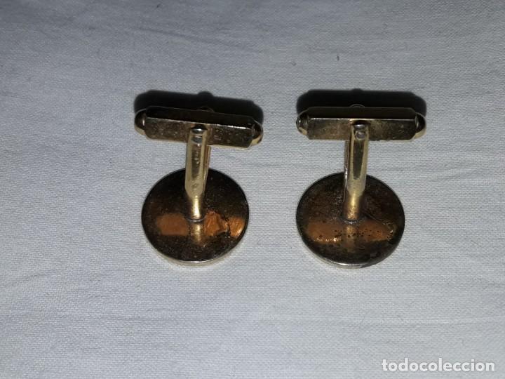 Antigüedades: Bellos antiguos gemelos dorados - Foto 4 - 246192060