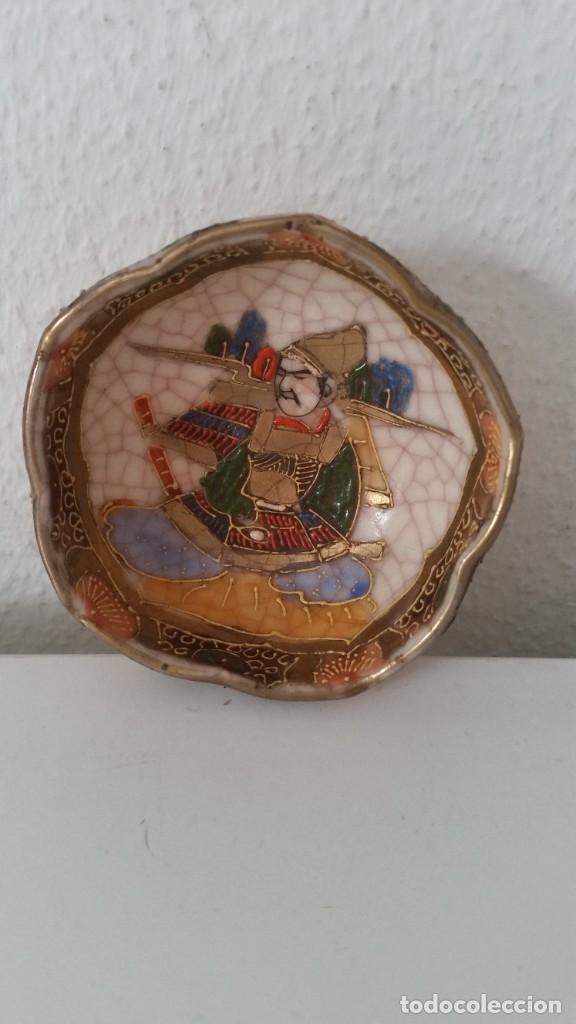 Antigüedades: PEQUENO BOL PORCELANA CHINA HECHA Y PINTADO A MANO - Foto 6 - 246258695