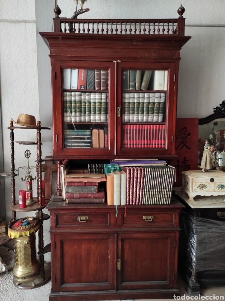ALACENA ANTIGUA (Antigüedades - Muebles Antiguos - Vitrinas Antiguos)
