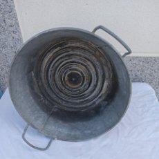 Antigüedades: CALDERÓ O BARREÑO DE CING. Lote 246267510