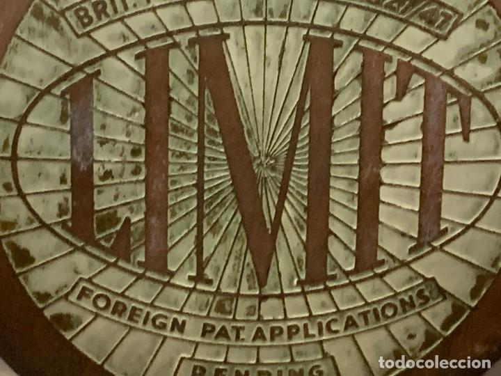 Antigüedades: GRAN VENTILADOR LIMIT ENGLAND METAL PPIO S XX 53 X 41 CMS - Foto 3 - 246274155