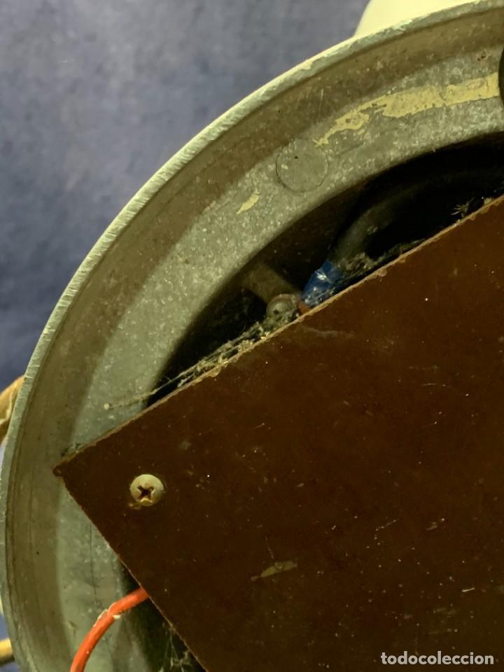 Antigüedades: GRAN VENTILADOR LIMIT ENGLAND METAL PPIO S XX 53 X 41 CMS - Foto 13 - 246274155