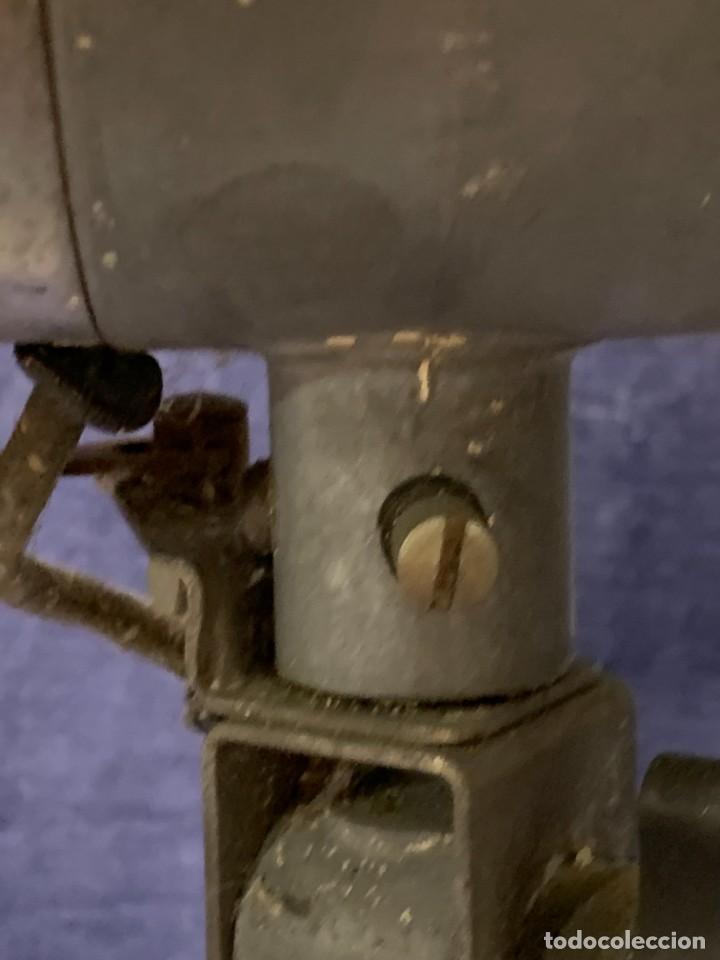 Antigüedades: GRAN VENTILADOR LIMIT ENGLAND METAL PPIO S XX 53 X 41 CMS - Foto 19 - 246274155