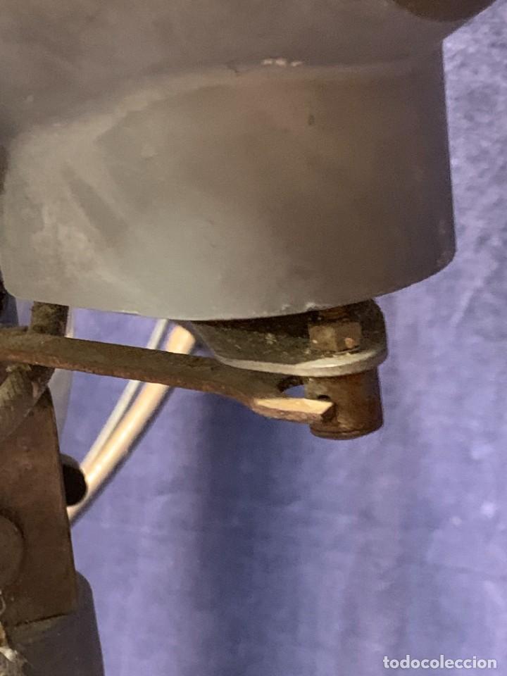 Antigüedades: GRAN VENTILADOR LIMIT ENGLAND METAL PPIO S XX 53 X 41 CMS - Foto 21 - 246274155