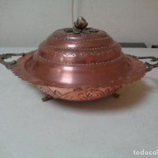 Antigüedades: SOPERA DE COBRE DEL SIGLO XIX. Lote 246303910