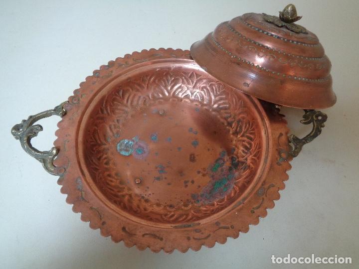 Antigüedades: sopera de cobre del siglo XIX - Foto 3 - 246303910