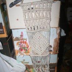 Antigüedades: MACETERO MACRAMÉ. Lote 246308740