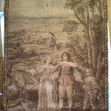 Antigüedades: ANTIGUA Y GRAN TAPICERIA MURALE , ESCENA DEL SIGLO XVII , MARAVILLOSA. Lote 246319085