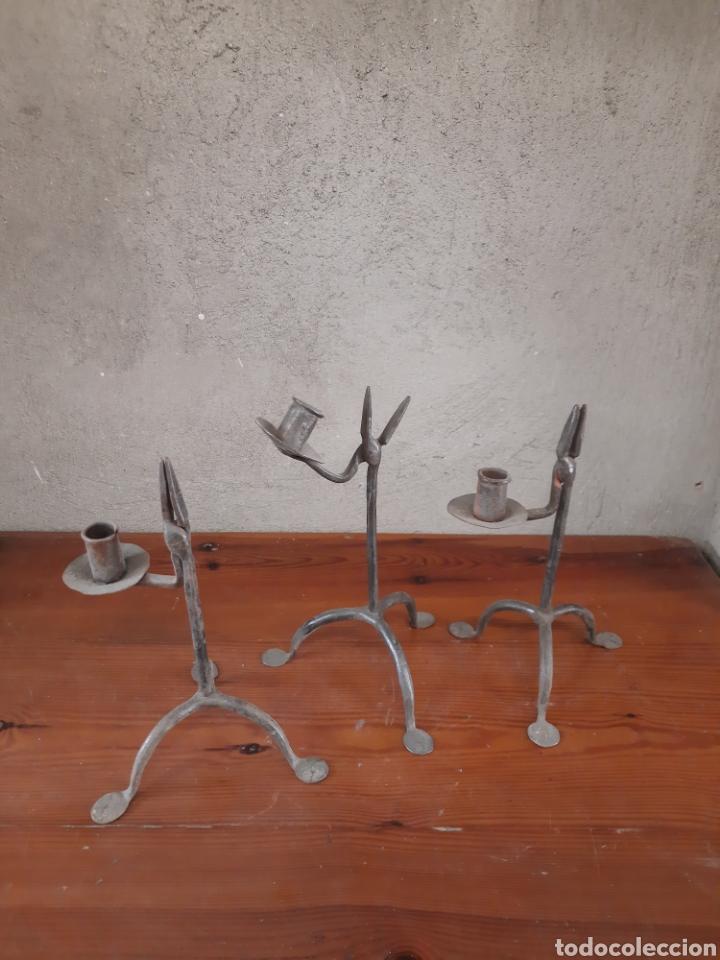 3 CANDELABROS (Antigüedades - Hogar y Decoración - Otros)