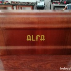 Antigüedades: MAQUINA DE COSER ALFA ANTIGUA. Lote 246445955