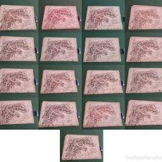 Antigüedades: EL CONSULTOR DE LOS BORDADOS 17 NUMEROS QUE SON: 8,10,14,15,16,21,37,58,62,74,76,80,104,106,123,571. Lote 246481205