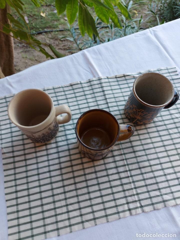 Antigüedades: LOTE DE 3 TAZAS - Foto 2 - 246487325