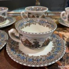 Antiquités: TAZAS DE CAFÉ MODELO VIEJO MOLINO. Lote 246529380
