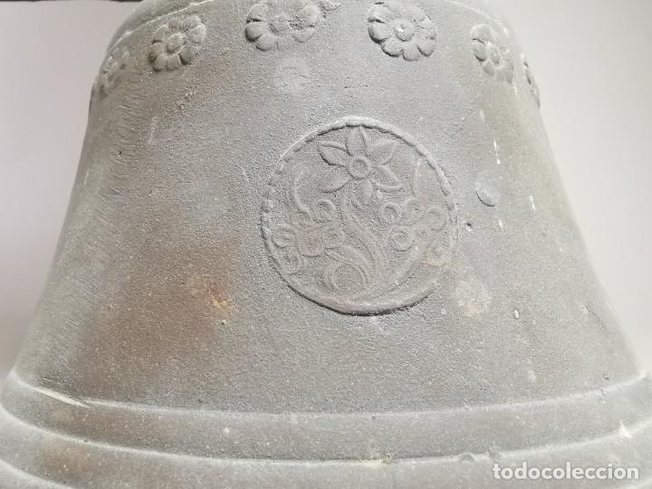 Antigüedades: ANTIGUA Y PRECIOSA CAMPANA FRANCESA SIGLO XIX--CONVENTO--CAPILLA---GRAN SONIDO - REF-MO - Foto 10 - 246551000
