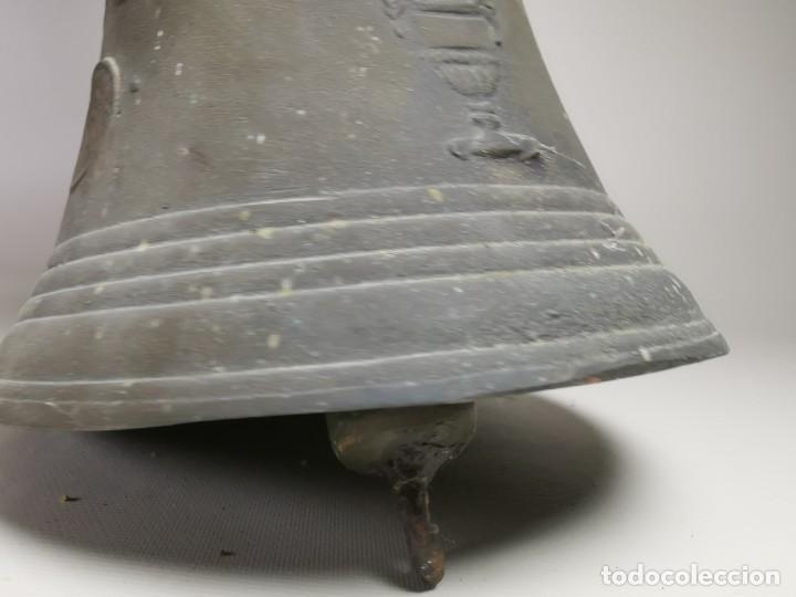 Antigüedades: ANTIGUA Y PRECIOSA CAMPANA FRANCESA SIGLO XIX--CONVENTO--CAPILLA---GRAN SONIDO - REF-MO - Foto 12 - 246551000