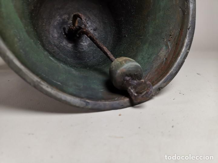 Antigüedades: ANTIGUA Y PRECIOSA CAMPANA FRANCESA SIGLO XIX--CONVENTO--CAPILLA---GRAN SONIDO - REF-MO - Foto 18 - 246551000