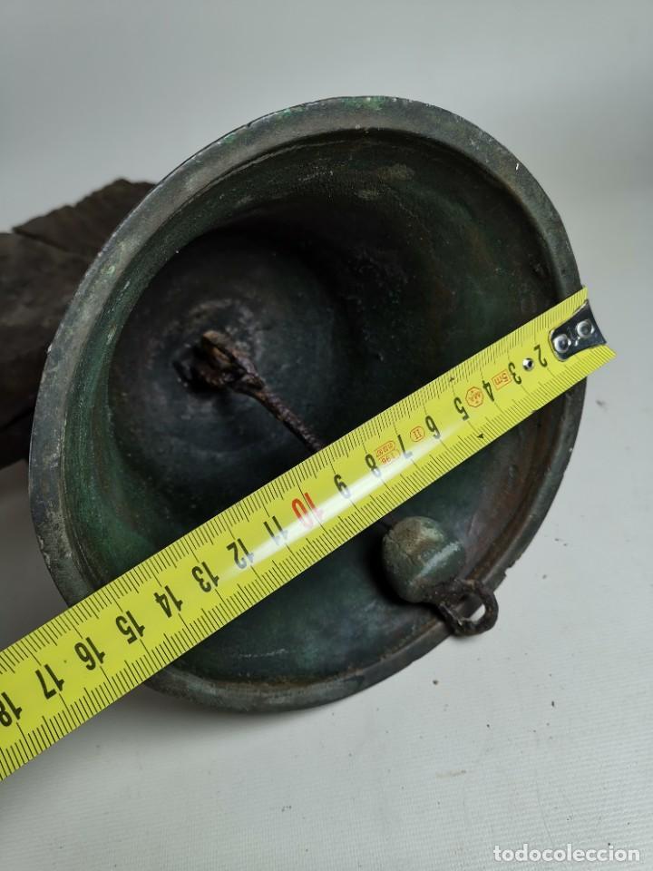 Antigüedades: ANTIGUA Y PRECIOSA CAMPANA FRANCESA SIGLO XIX--CONVENTO--CAPILLA---GRAN SONIDO - REF-MO - Foto 20 - 246551000